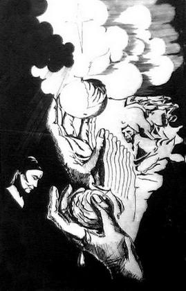 ''Райские яблоки''. Автор иллюстрации - Ольга Сидорович