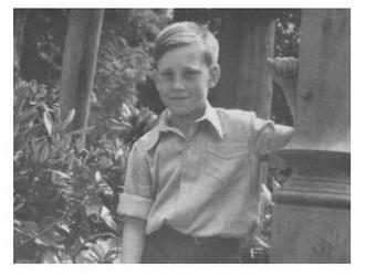 Володя Высоцкий в детском санатории. Бад-Эльстер, Германия, май-июнь 1948 г.